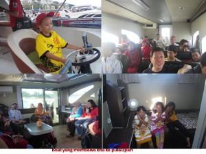 boat ke pulau pari